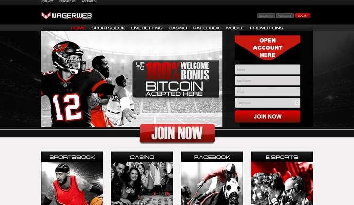 WagerWeb Website