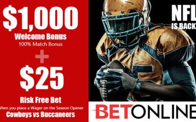 BetOnline Special NFL Bonus