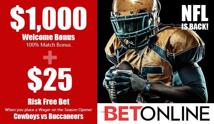 BetOnline Sports Bonus