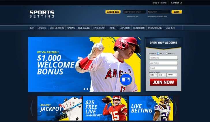 SportsBetting Website