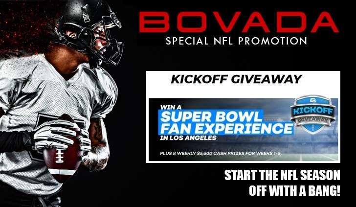 Bovada NFL Promo